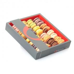 Boîte de 35 macarons